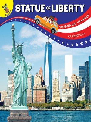 cover image of Visiting U.S. Symbols Statue of Liberty