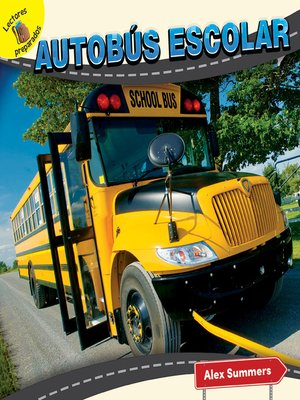cover image of Autobús escolar (School Bus)
