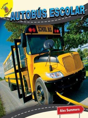 cover image of Autobús escolar (School Bus)