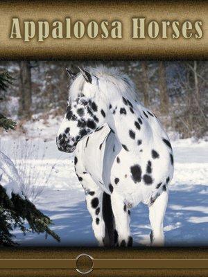 cover image of Appaloosa Horses