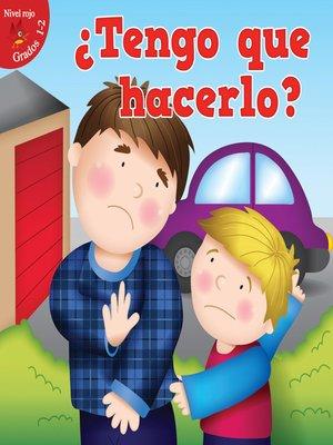 cover image of Tengo que hacerlo?
