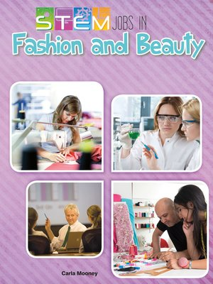 cover image of STEM Jobs in Fashion and Beauty