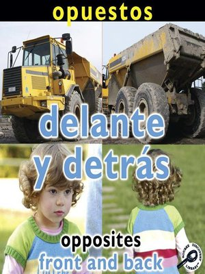 cover image of Delante y detrás (Opposites: Front and Back)