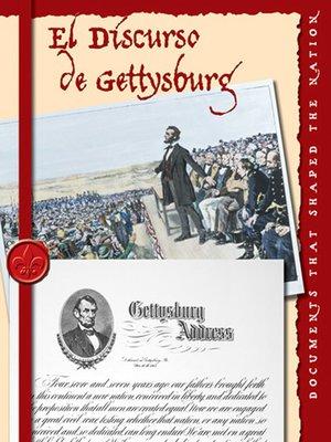 cover image of El Discurso de Gettysburg (The Gettysburg Address)