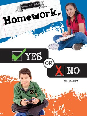 cover image of Homework, Yes or No