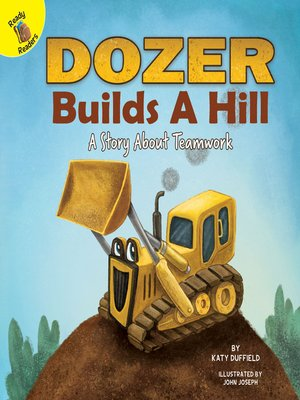 cover image of Dozer Builds a Hill