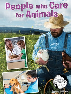 cover image of People Who Care for Animals