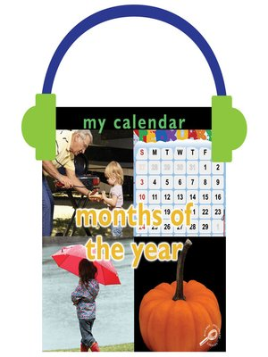 cover image of My Calendar: Months of the Year