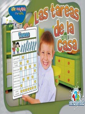 cover image of Las tareas de la casa (Mulberry Bush)