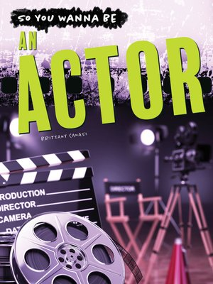 cover image of An Actor