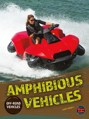 cover image of Amphibious Vehicles