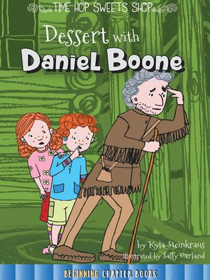 cover image of Dessert with Daniel Boone