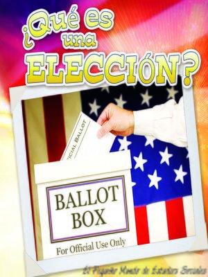 cover image of Qué es una elección?