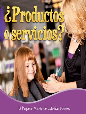 cover image of Productos o servicios?