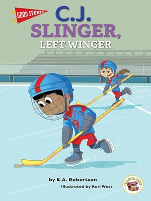 cover image of Good Sports C.J. Slinger, Left Winger, Grades K - 2