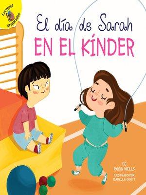 cover image of El día de Sarah en el kínder