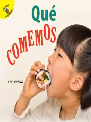 cover image of Descubrámoslo (Let's Find Out) Qué comemos