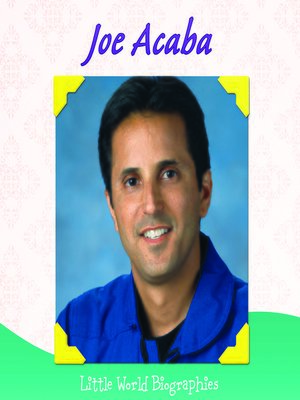 cover image of Joe Acaba