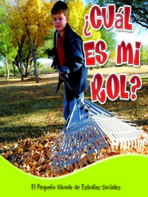 cover image of ¿Cuál es mi rol?