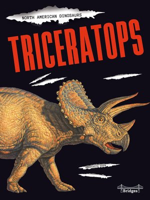 cover image of Triceratops