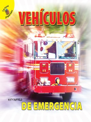 cover image of Mi Mundo (My World) Vehículos de emergencia