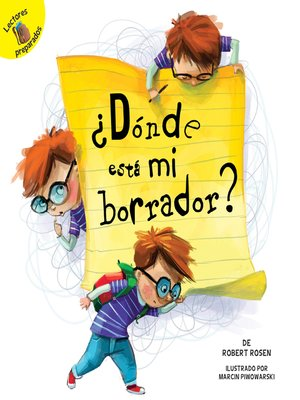 cover image of ¿Dónde está mi borrador? (Where is My Eraser?)