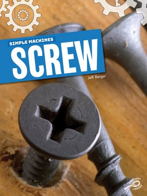 cover image of Simple Machines Screw