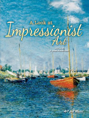 cover image of A Look at Impressionist Art