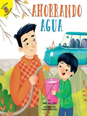 cover image of Ahorrando agua