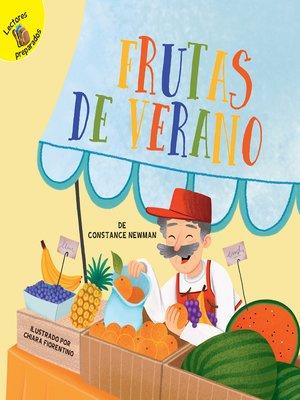 cover image of Frutas de verano