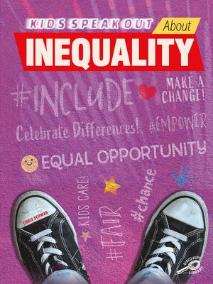 cover image of Kids Speak Out About Inequality