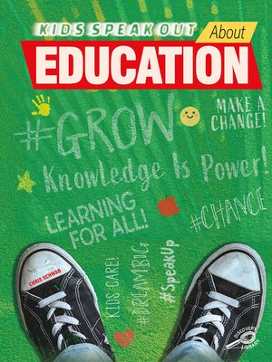 cover image of Kids Speak Out About Education