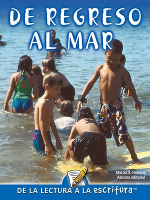 cover image of De Regreso Al Mar (Back To The Sea) (Spanish-Readers for Writers-Fluent)