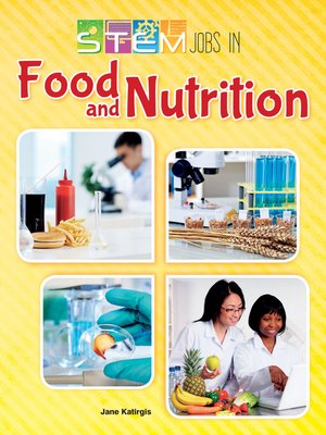 cover image of STEM Jobs in Food and Nutrition