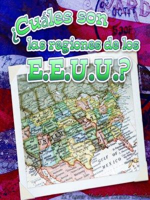 cover image of ¿Cuáles son las regiones de los E.E.U.U.?