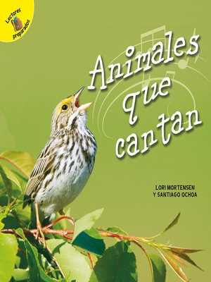 cover image of Animales que cantan