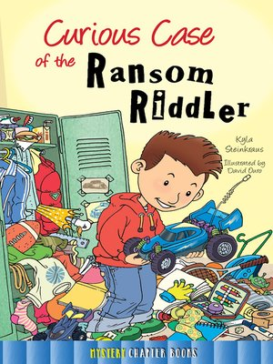 cover image of Curious Case of the Ransom Riddler