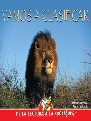 cover image of Vamos a Clasificar (Sorting It All Out) (Spanish-Readers for Writers-Early)