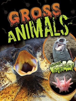 cover image of Gross Animals