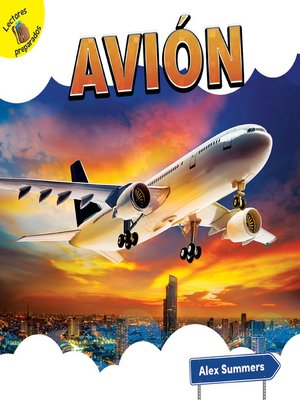 cover image of Avión (Airplane)