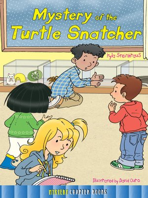 cover image of Mystery of the Turtle Snatcher