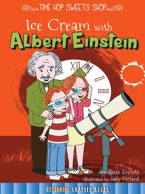 cover image of Ice Cream with Albert Einstein