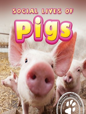 cover image of Social Lives of Pigs