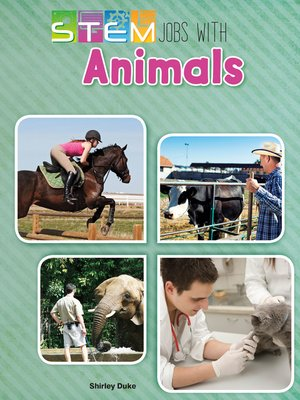 cover image of STEM Jobs with Animals