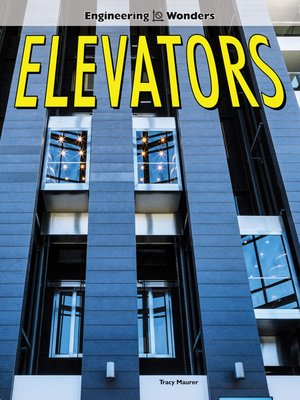 cover image of Elevators