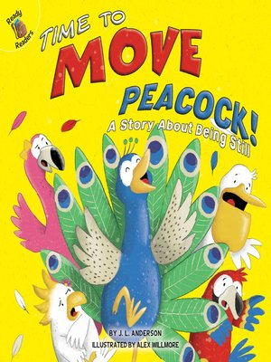 cover image of Time to Move, Peacock!