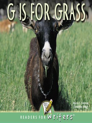 cover image of G is for Grass