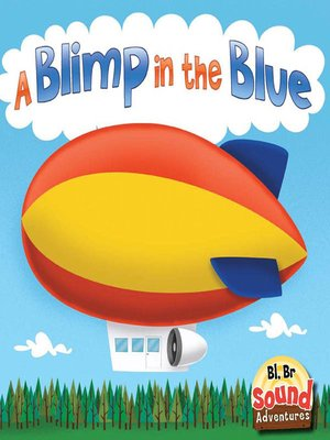 cover image of A Blimp in the Blue