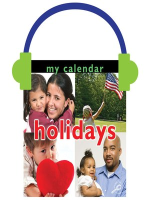 cover image of My Calendar: Holidays