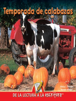 cover image of Temporada De Calabazas (Pumpkin Time) (Spanish-Readers for Writers-Early)